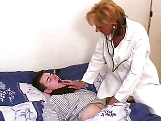 Antique Blonde Mummy Physician In Hot Underwear Passionately Fucks...