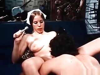 Gonzo Deepthroat Oral Pleasure In This Old-school Pornography