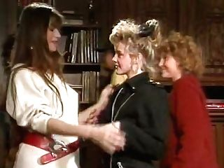 Nerdy Dude Is Getting Pleased By Two Lustful Dolls In Ffm Threesome