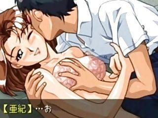 Sega Saturn - Ojousama Wo Nerae! Aki Scene